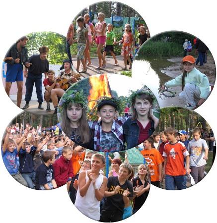 Дети в лагере картинки