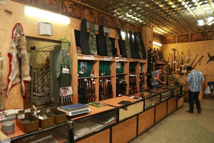 охотничий магазин в Бишкеке